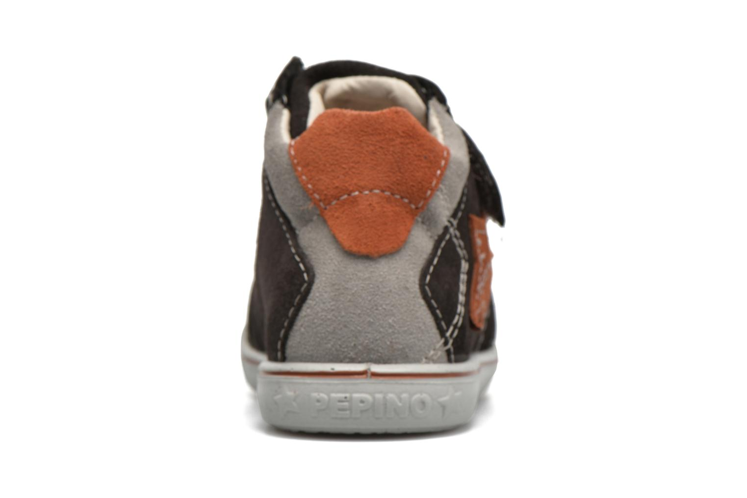 Trainers PEPINO Kimo Black view from the right