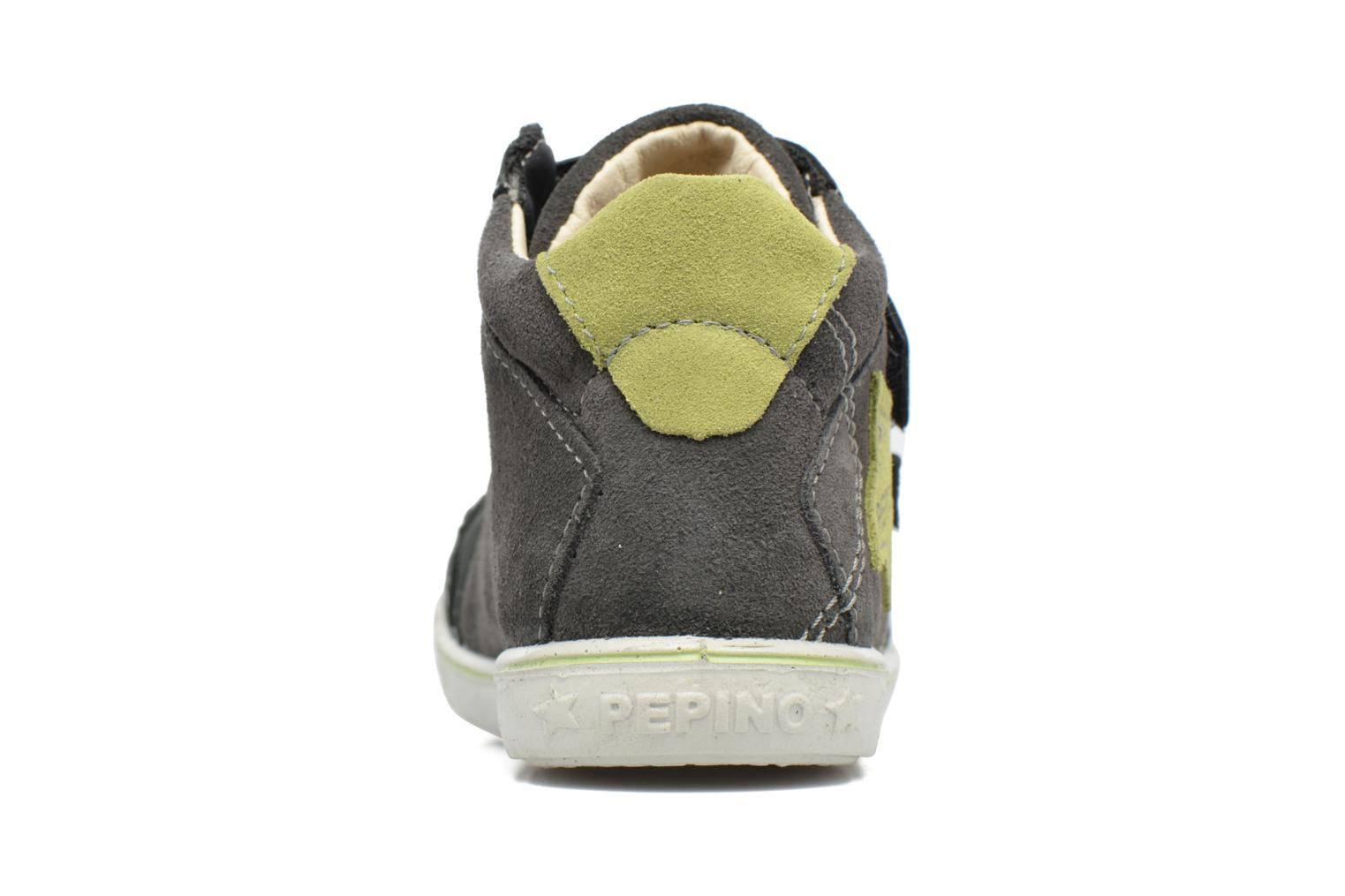 Trainers PEPINO Kimo Grey view from the right