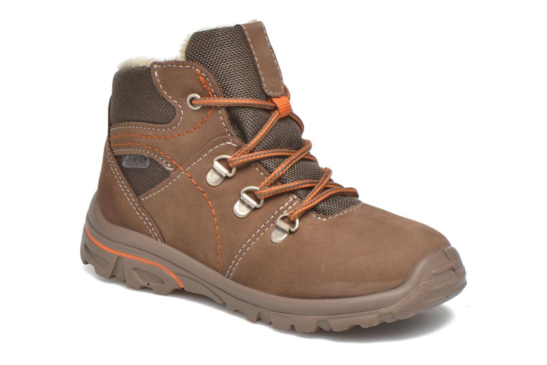 Bottines et boots PEPINO Desse Marron vue détail/paire