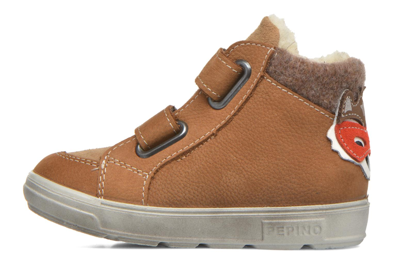 Trainers PEPINO Alazan Brown front view