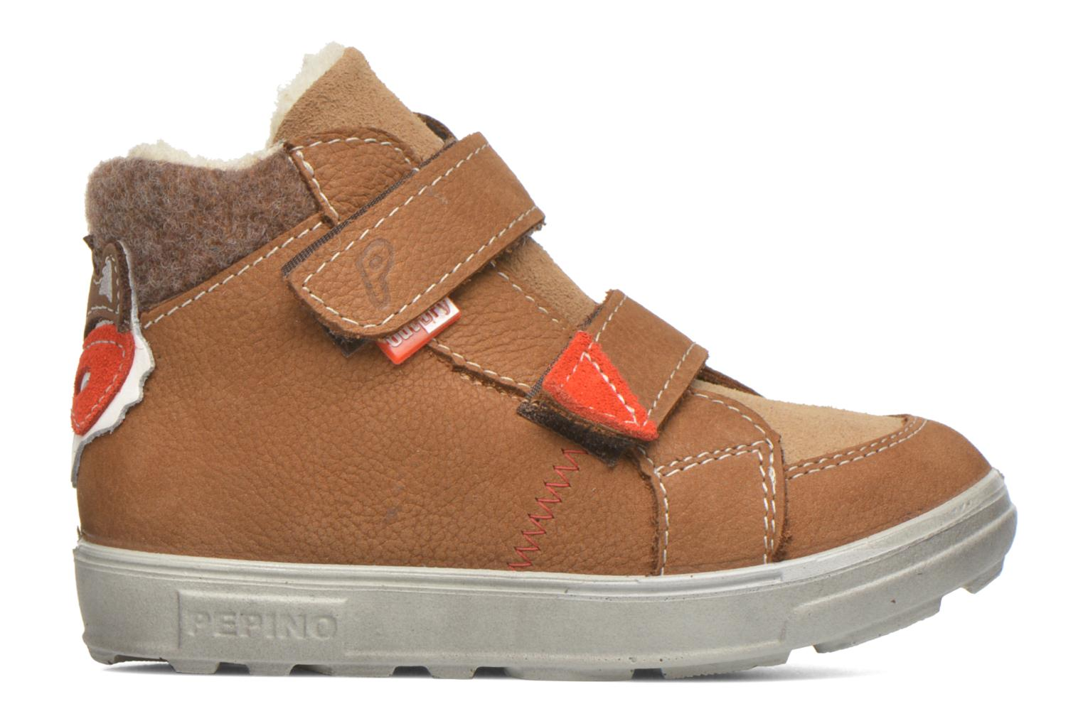 Trainers PEPINO Alazan Brown back view