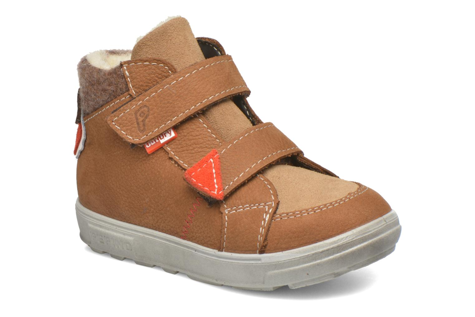 Trainers PEPINO Alazan Brown detailed view/ Pair view