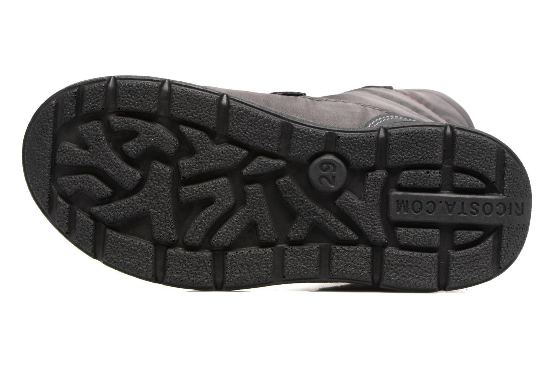 Stiefel Ricosta Garei-tex grau ansicht von oben