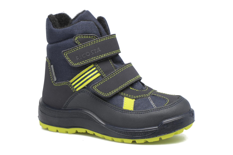 Boots & wellies Ricosta Gabris Blue detailed view/ Pair view