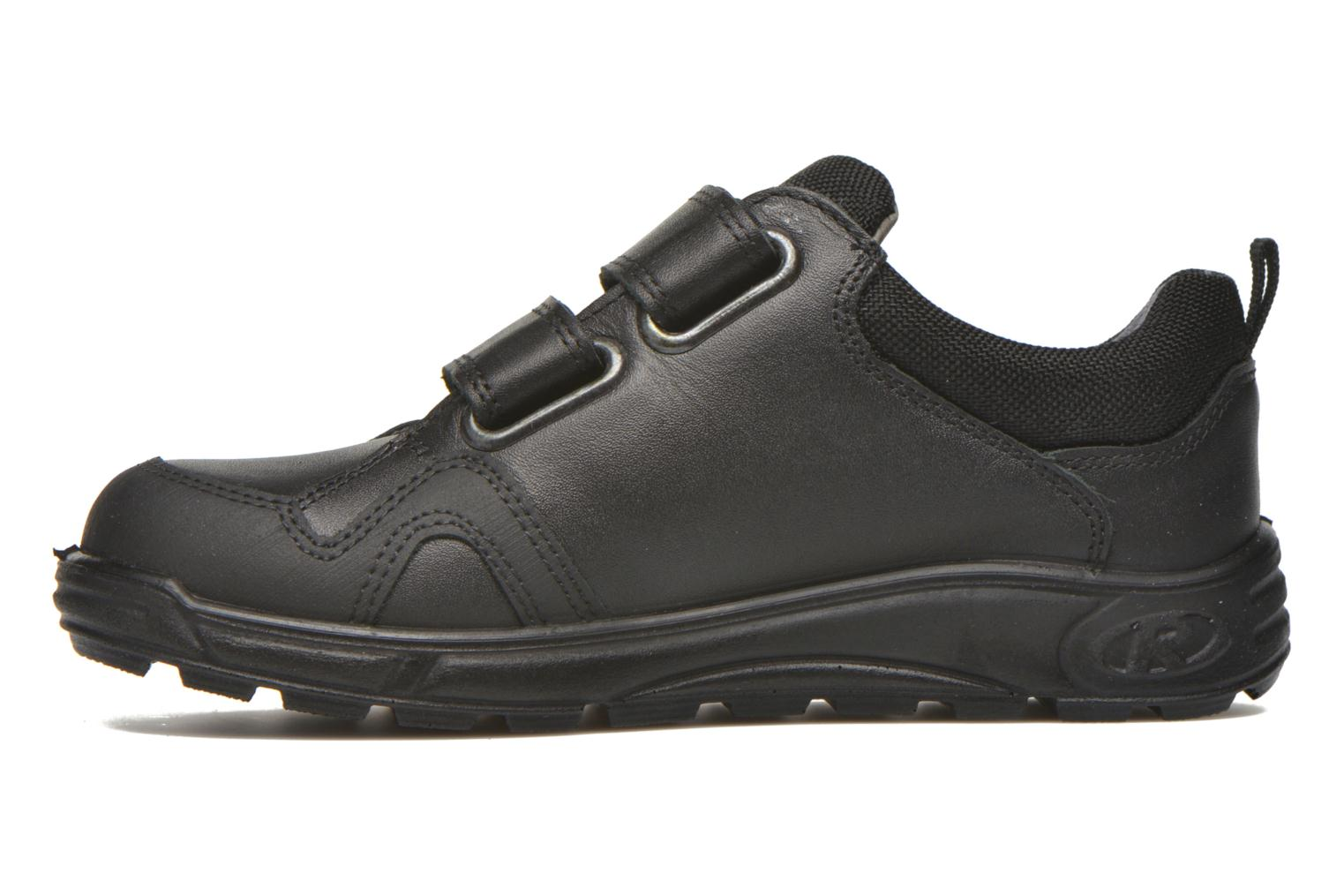 Velcro shoes Ricosta Tamo Black front view