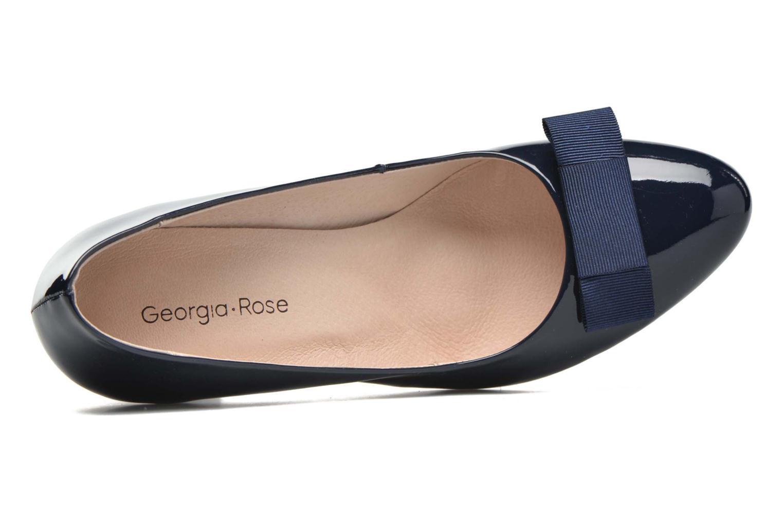 Escarpins Georgia Rose Toumtoum Bleu vue gauche
