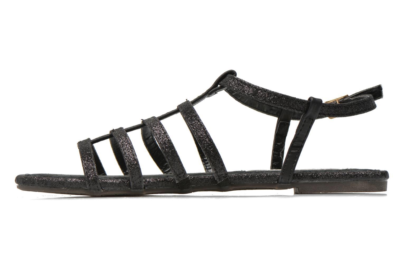 Sandales et nu-pieds Xti Dominicana 30160 Noir vue face