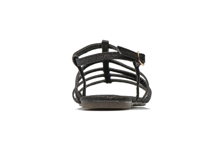 Sandales et nu-pieds Xti Dominicana 30160 Noir vue droite