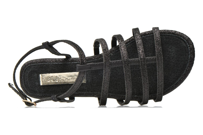Sandales et nu-pieds Xti Dominicana 30160 Noir vue gauche