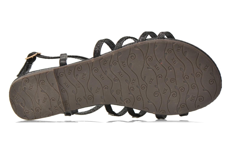 Sandales et nu-pieds Xti Dominicana 30160 Noir vue haut