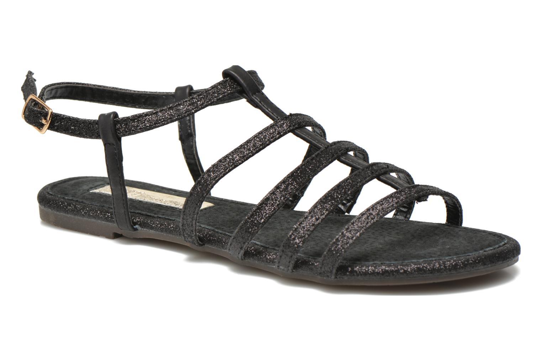 Sandales et nu-pieds Xti Dominicana 30160 Noir vue détail/paire