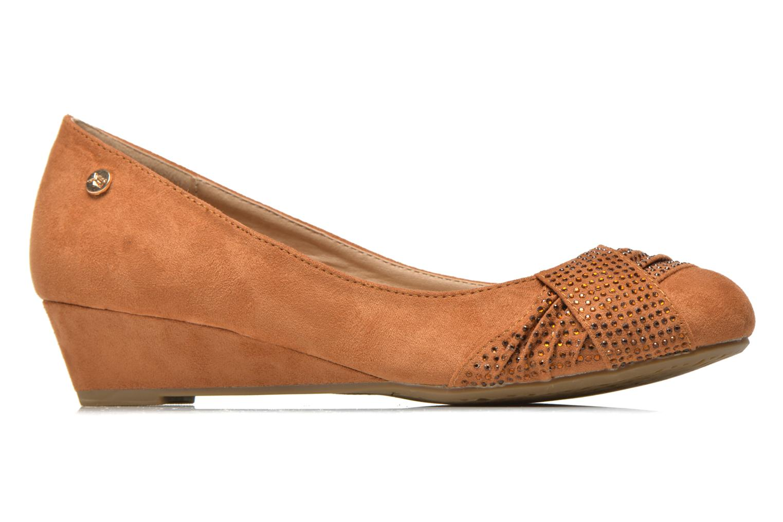 Ballet pumps Xti Sunday 45106 Brown back view