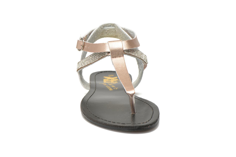 Sandalen Xti Hamane 45770 rosa schuhe getragen
