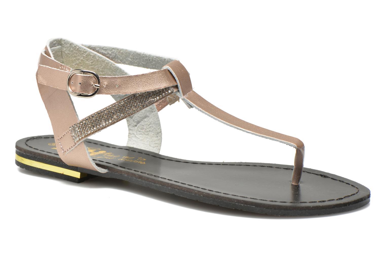 Sandals Xti Hamane 45770 Pink detailed view/ Pair view