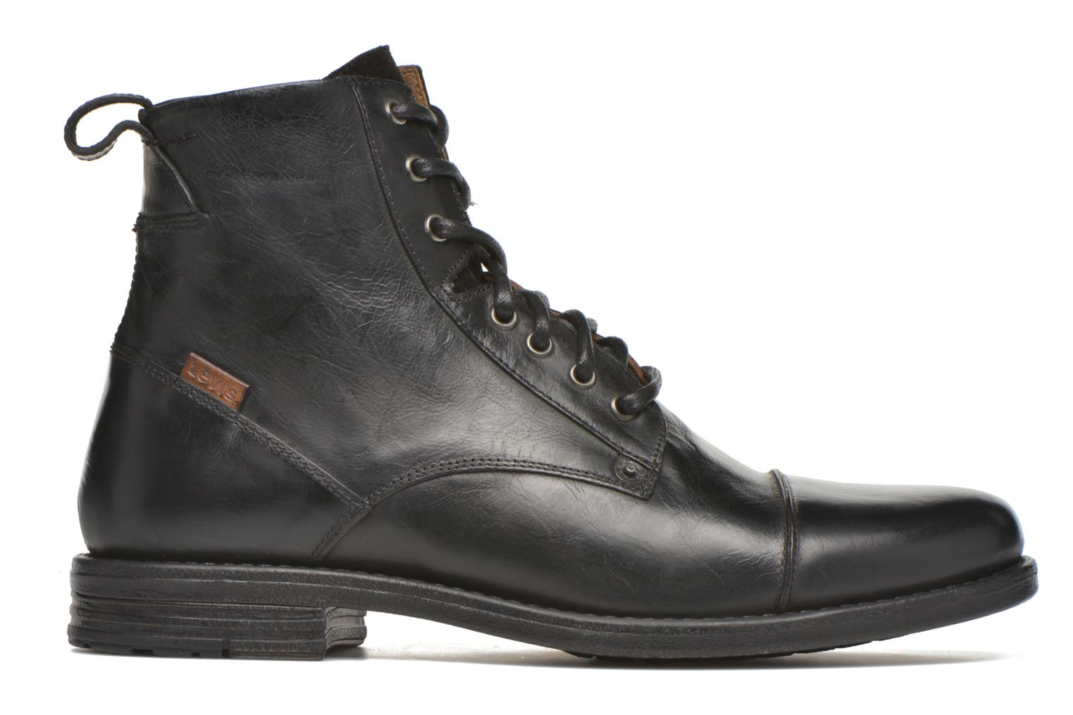 Ankle boots Levi's Emerson Lace Up Black back view