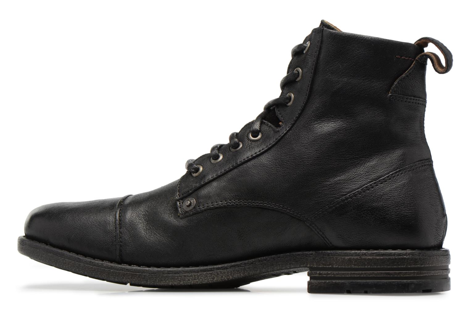 Botines  Levi's Emerson Lace Up Negro vista de frente