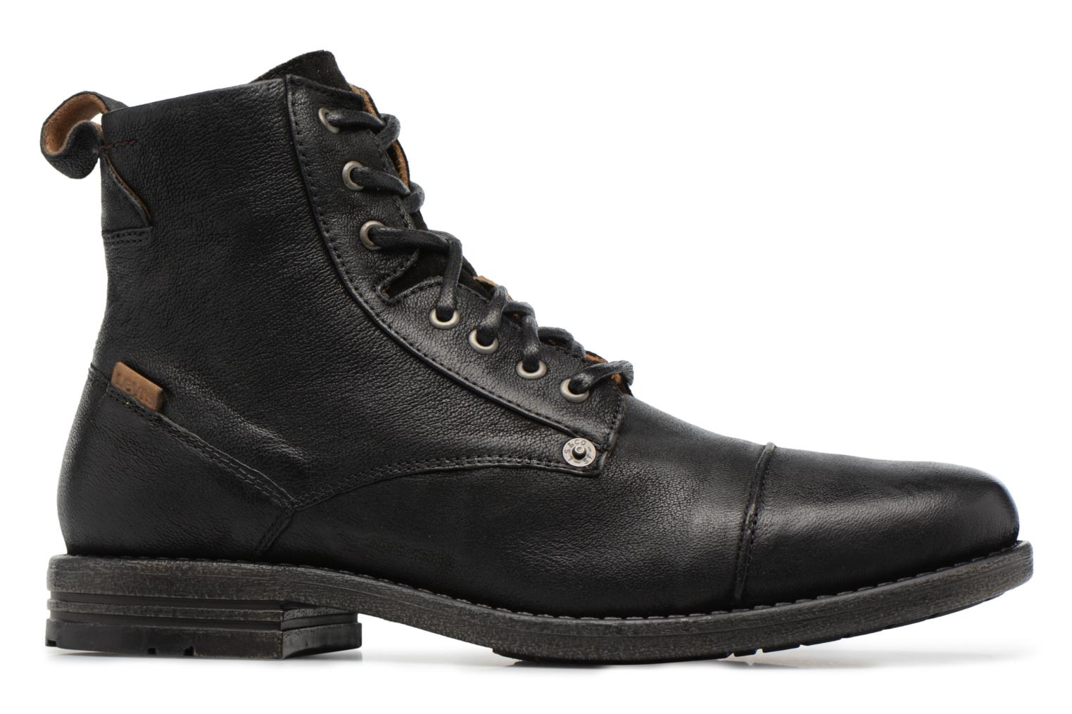 Botines  Levi's Emerson Lace Up Negro vistra trasera