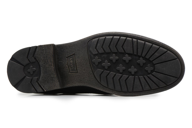 Bottines et boots Levi's Emerson Lace Up Noir vue haut