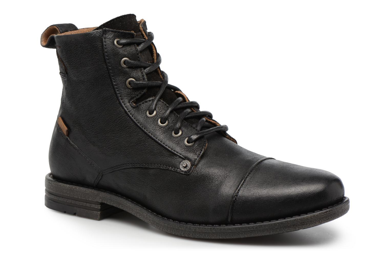 Bottines et boots Levi's Emerson Lace Up Noir vue détail/paire
