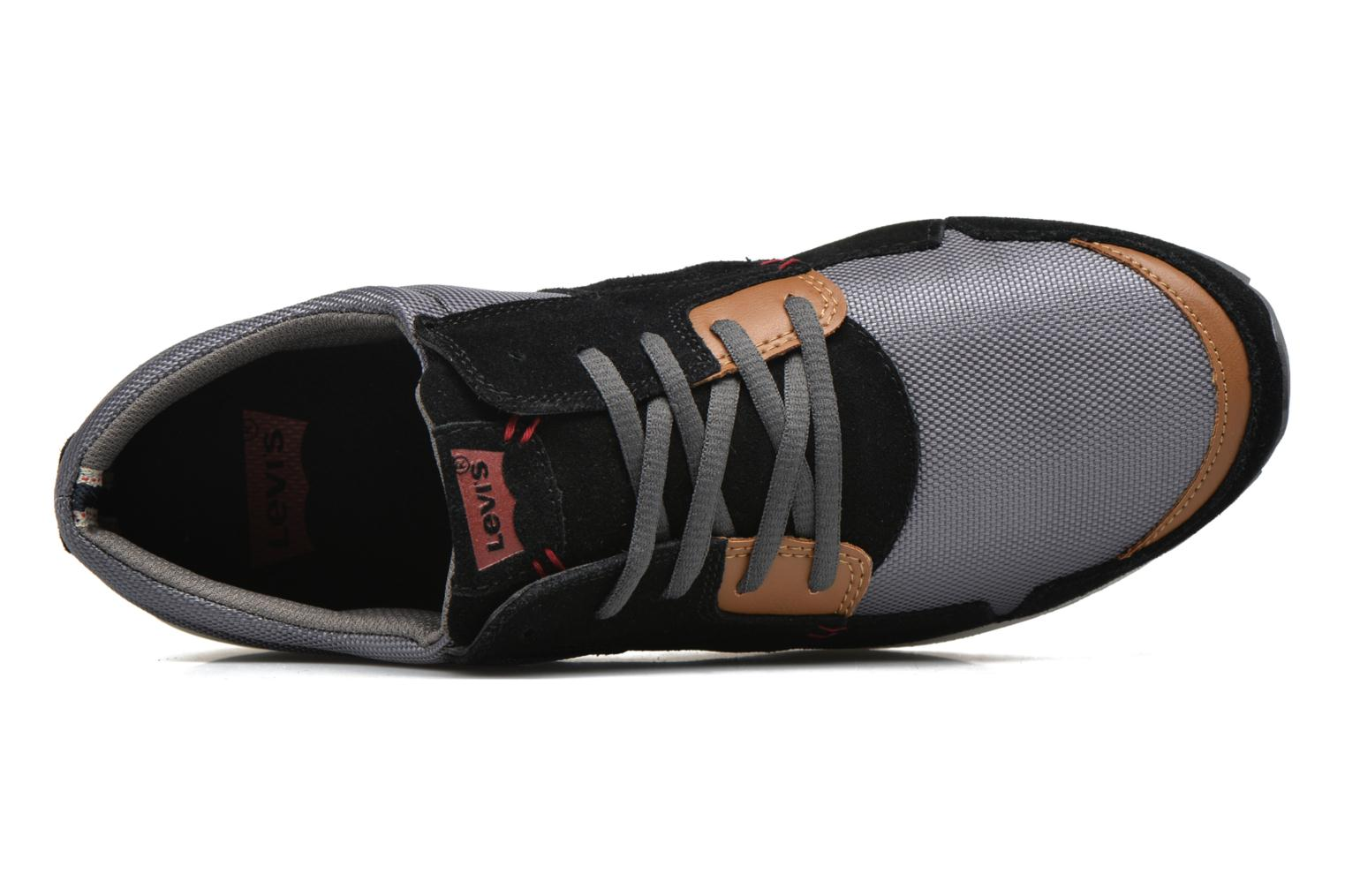 Sneakers Levi's Ny Runner Nero immagine sinistra