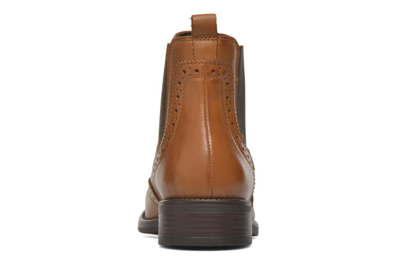Bottines et boots Georgia Rose Alsea Marron vue droite