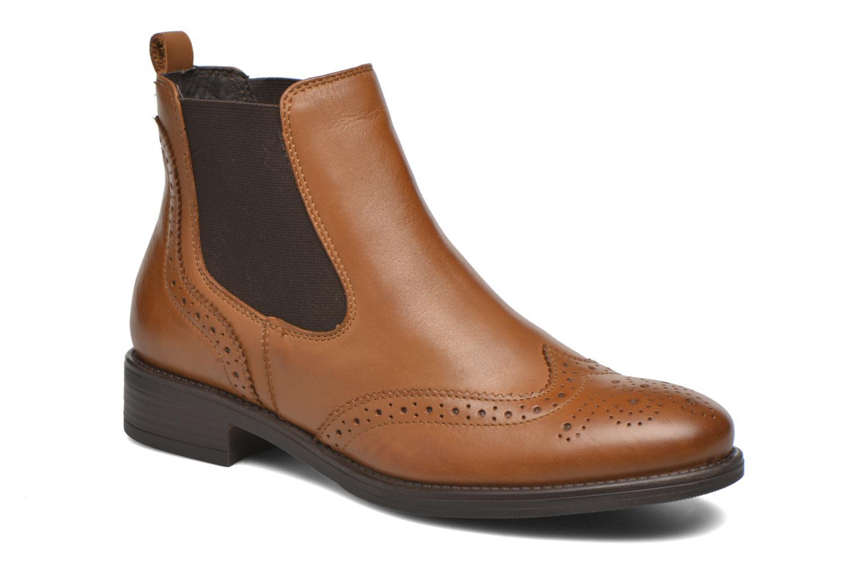 Bottines et boots Georgia Rose Alsea Marron vue détail/paire