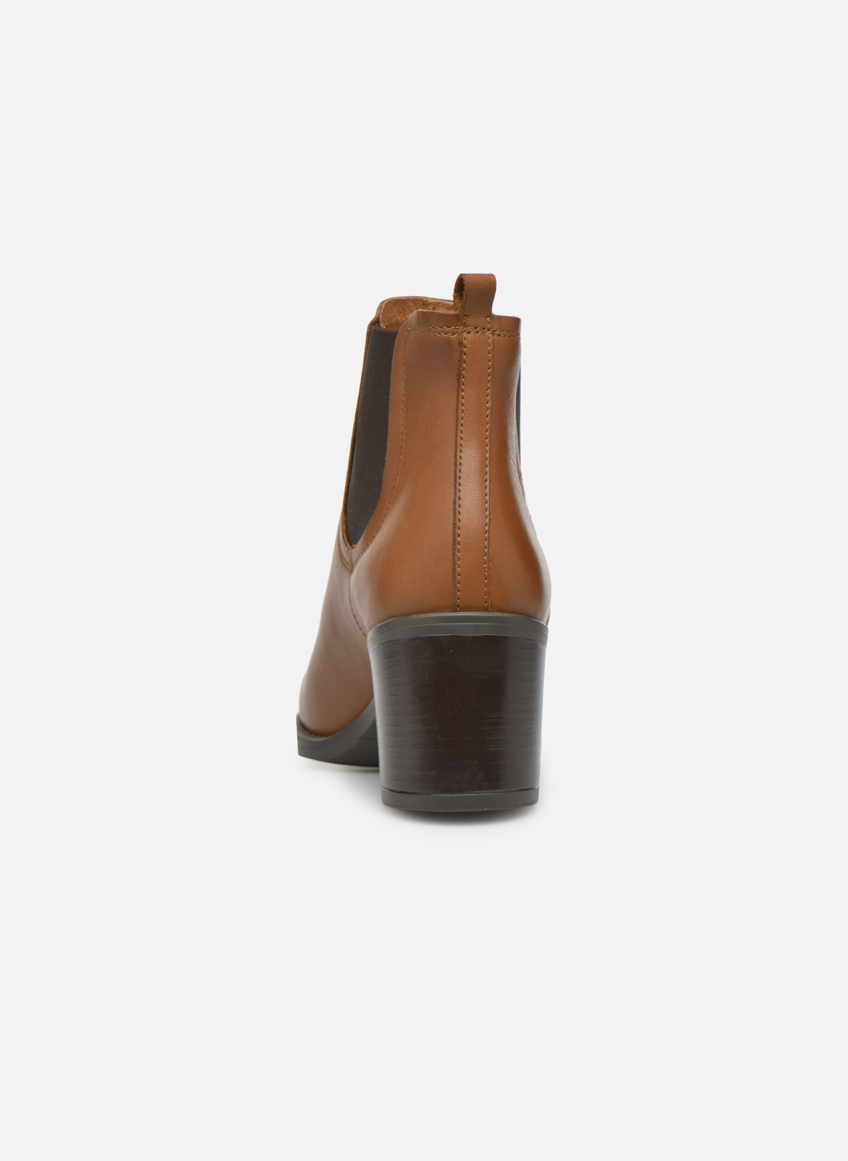 Ankle boots Georgia Rose Analla Brown view from the right
