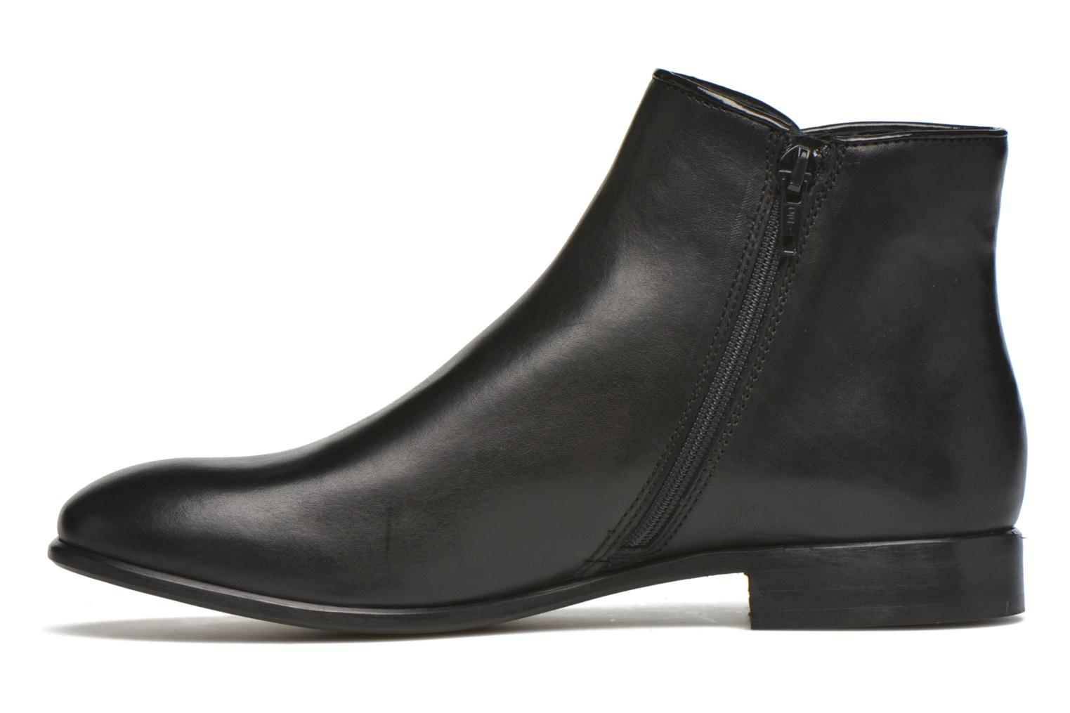 Ankle boots Georgia Rose Anouping Black front view