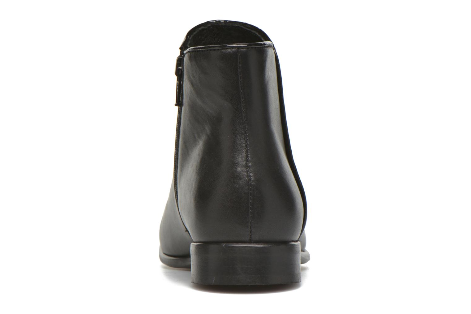 Ankle boots Georgia Rose Anouping Black view from the right
