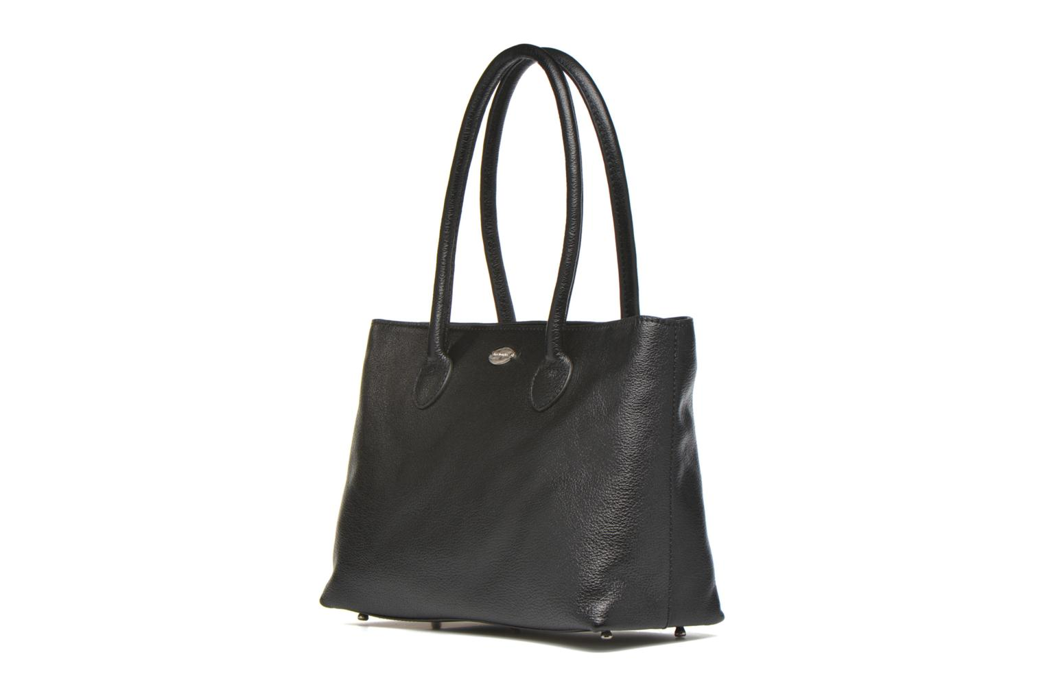 Handbags Mac Douglas BUNI Bagatelle M Cabas Black model view