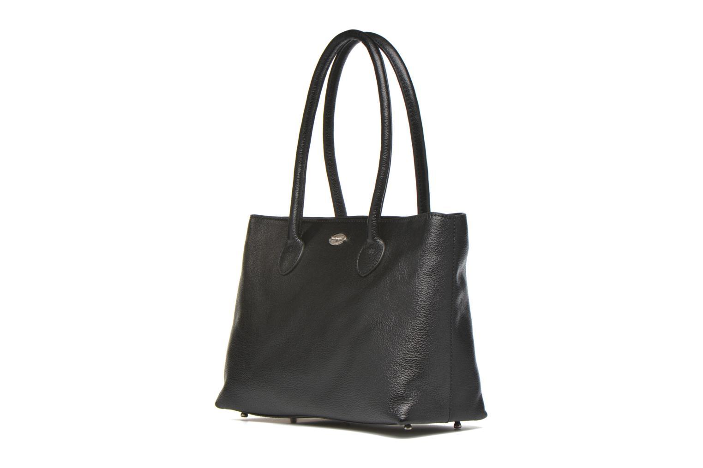Handtaschen Mac Douglas BUNI Bagatelle M Cabas schwarz schuhe getragen