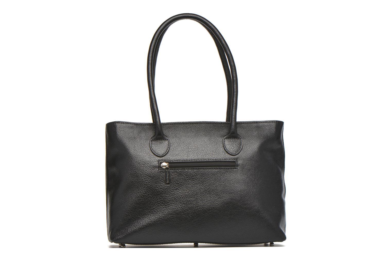 Handtaschen Mac Douglas BUNI Bagatelle M Cabas schwarz ansicht von vorne