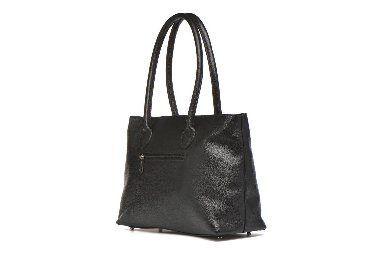 Handtaschen Mac Douglas BUNI Bagatelle M Cabas schwarz ansicht von rechts