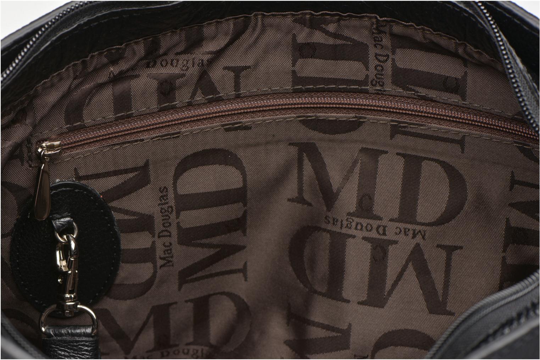 Handtaschen Mac Douglas BUNI Bagatelle M Cabas schwarz ansicht von hinten