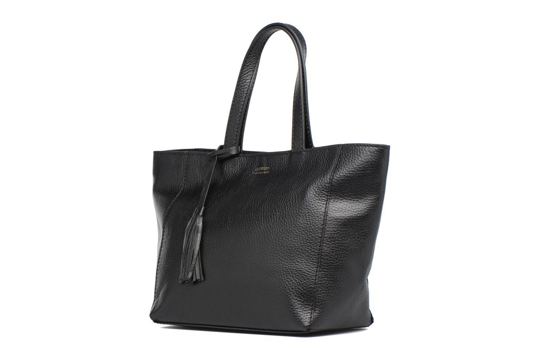 Handbags Loxwood CABAS PARISIEN S Cuir grainé Black model view