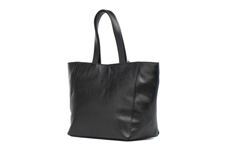 Handtaschen Loxwood CABAS PARISIEN S Cuir grainé schwarz ansicht von rechts