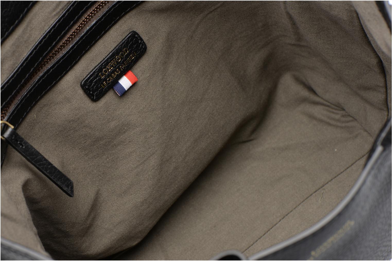 Sacs à main Loxwood CABAS PARISIEN S Cuir grainé Noir vue derrière
