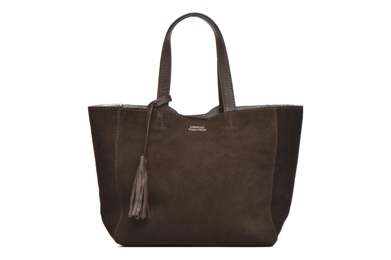 Handtaschen Loxwood CABAS PARISIEN Croute velours braun detaillierte ansicht/modell