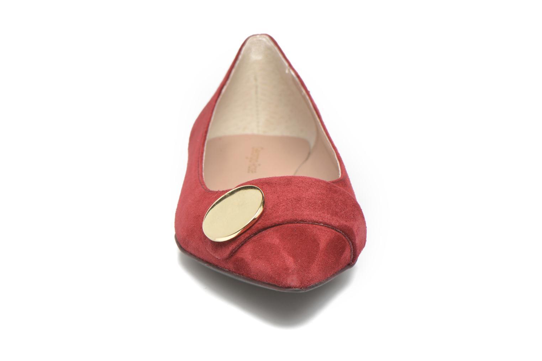 Ballerines Georgia Rose Jaol Bordeaux vue portées chaussures
