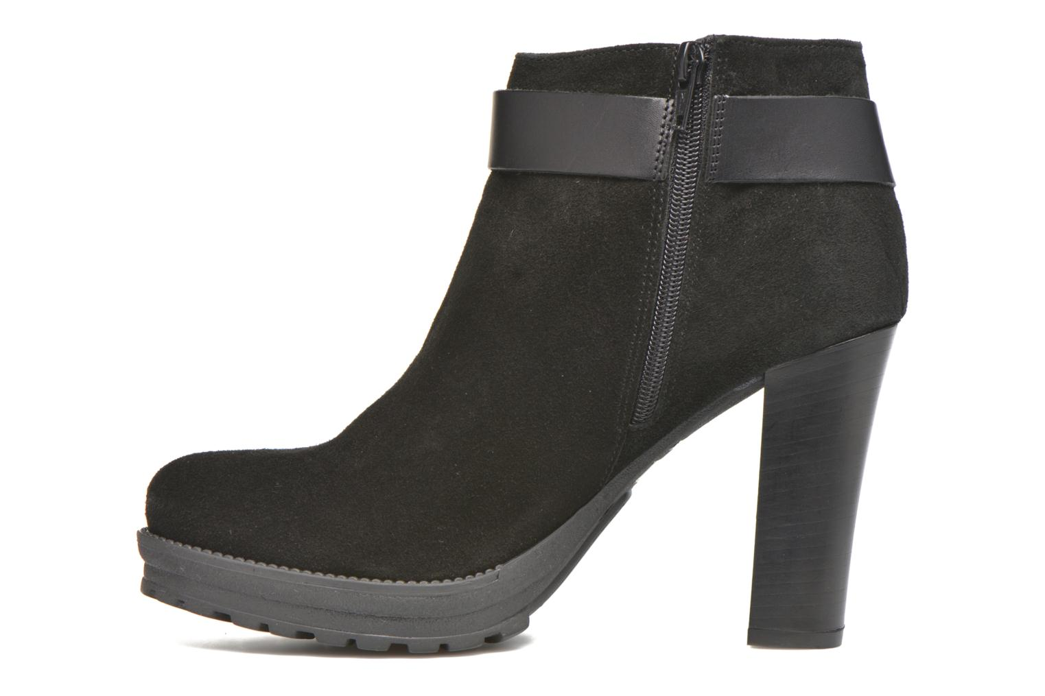 Ankle boots Georgia Rose Jalape Black front view