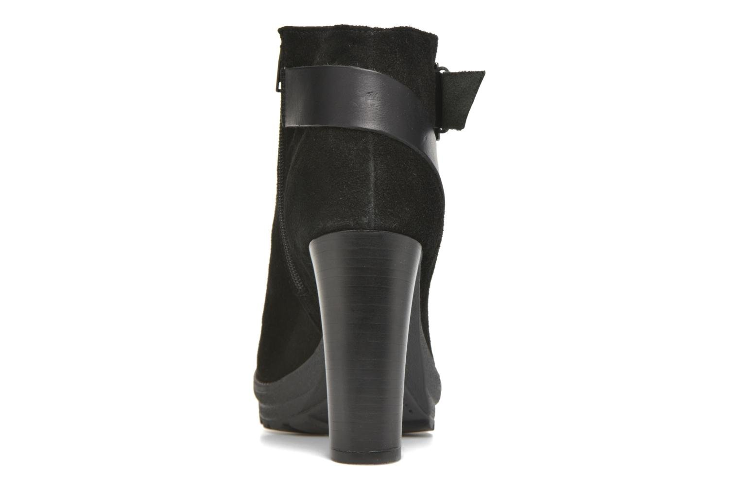 Ankle boots Georgia Rose Jalape Black view from the right