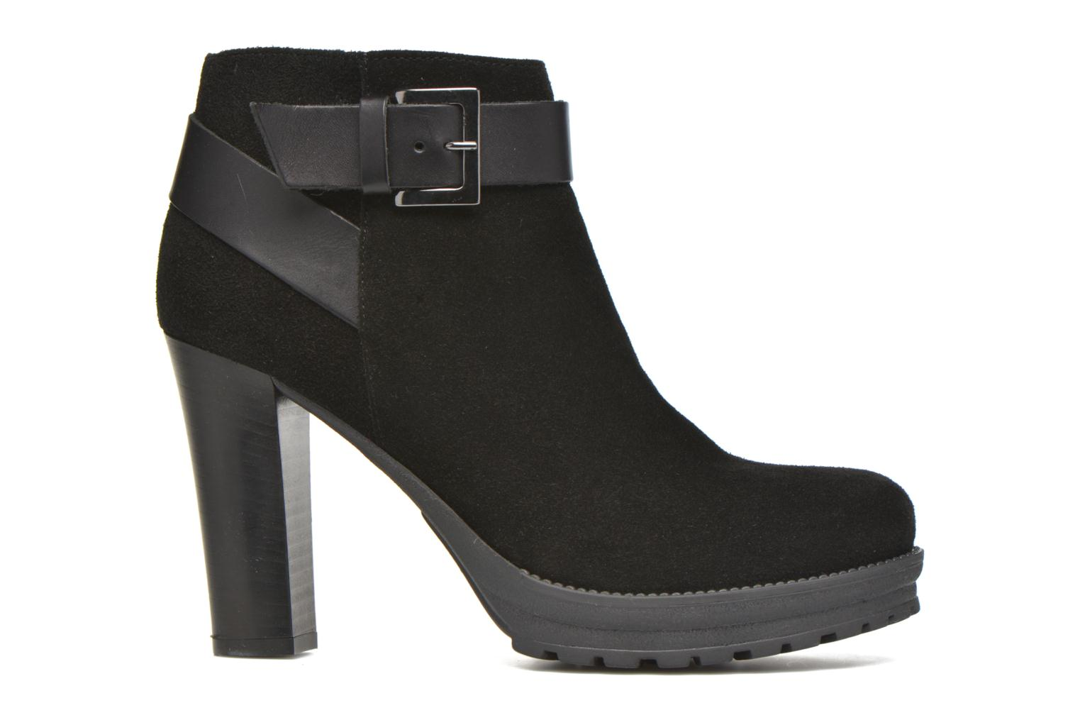 Ankle boots Georgia Rose Jalape Black back view