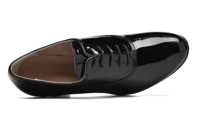 Chaussures à lacets Georgia Rose Jata Noir vue gauche
