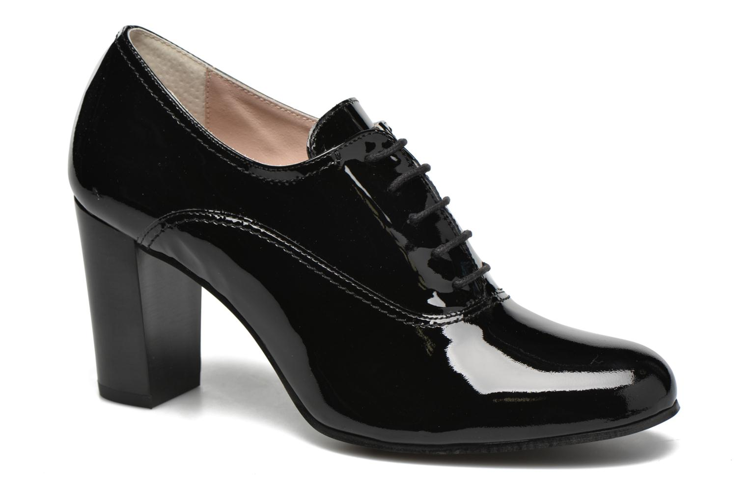 Lace-up shoes Georgia Rose Jata Black detailed view/ Pair view