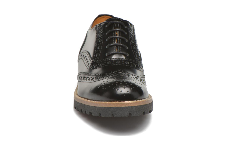 Chaussures à lacets Georgia Rose Nilieu Noir vue portées chaussures