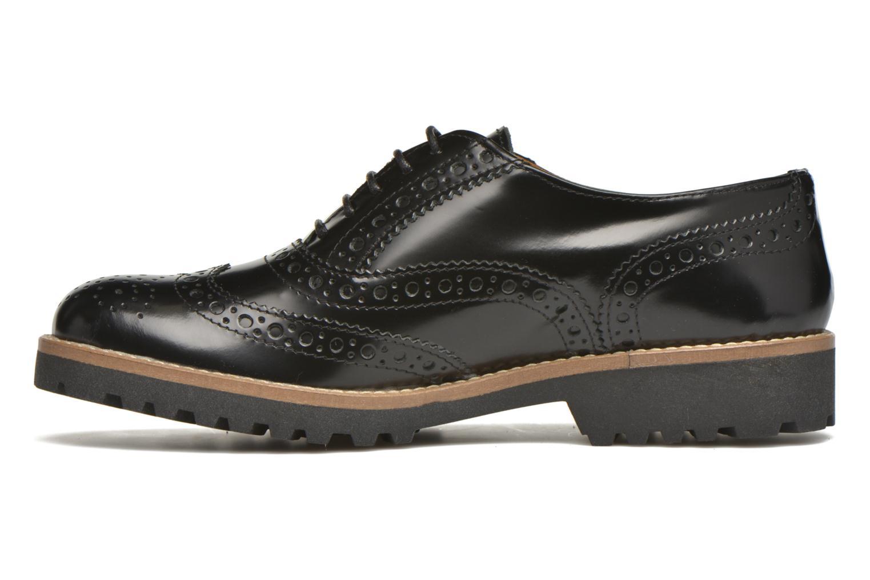 Chaussures à lacets Georgia Rose Nilieu Noir vue face