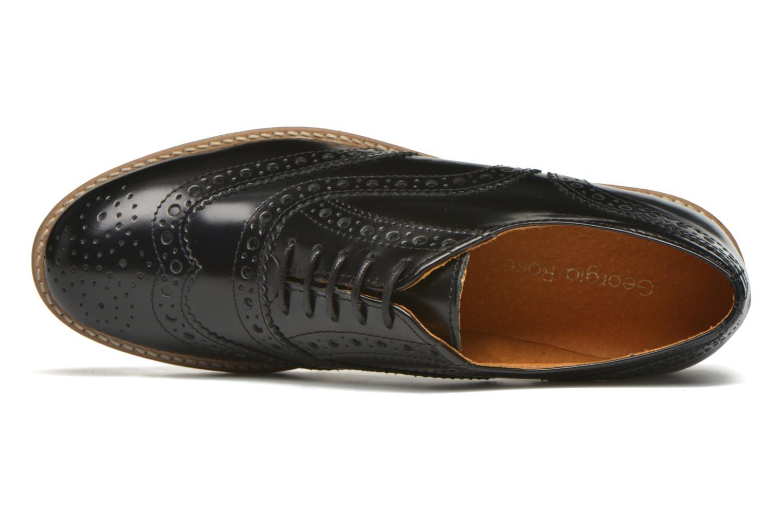 Chaussures à lacets Georgia Rose Nilieu Noir vue gauche