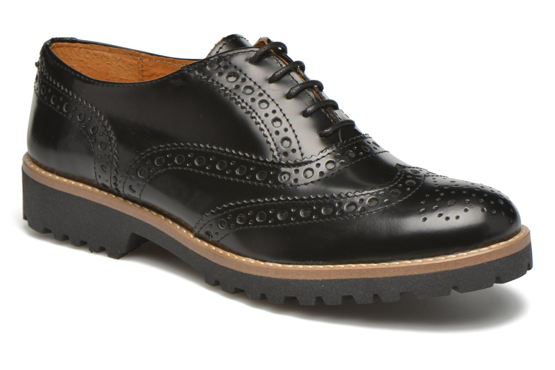 Chaussures à lacets Georgia Rose Nilieu Noir vue détail/paire