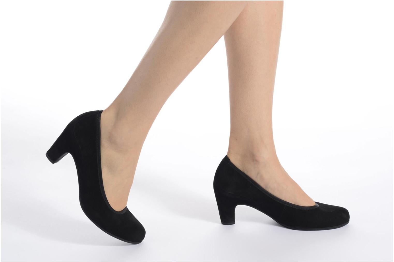 Zapatos de tacón Gabor Lane Negro vista de abajo