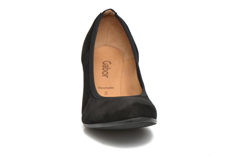 Escarpins Gabor Lane Noir vue portées chaussures